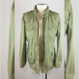 JCrew vintage ripstop utility cargo army jacket